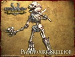 Patchwork Skeleton