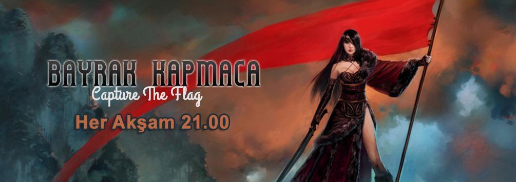 Capture The Flag kendi silah ve zırhlarınızla her akşam 21.00'da!