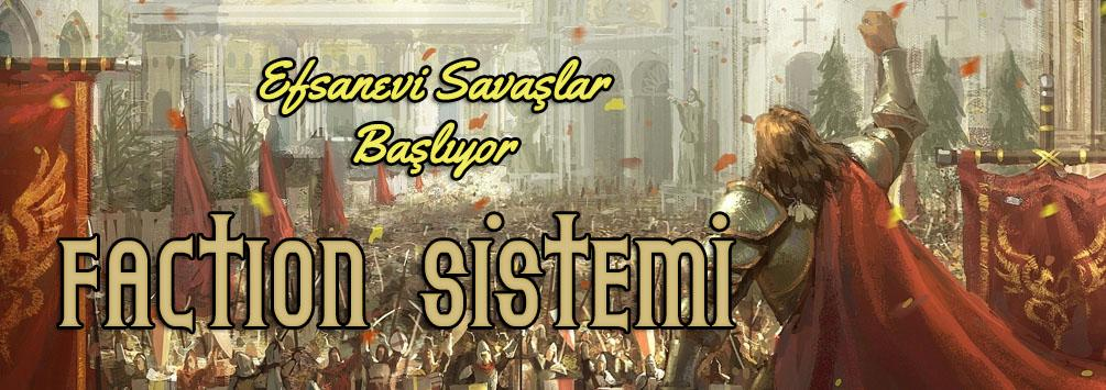 World of UO: Kaos, Faction sistemi tabanlıdır.